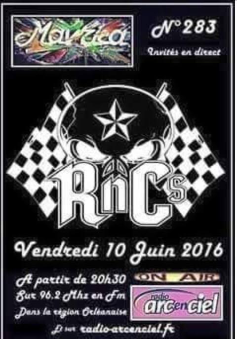 """10 juin 2016 RNC's à Fleury Les Aubrais """"Mavrica"""""""