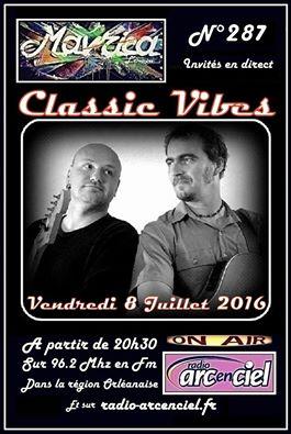 """8 juillet 2016 Classic Vibes à Fleury les Aubrais """"Mavrica"""""""