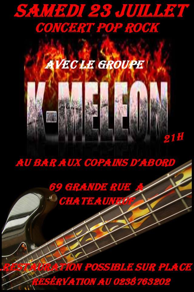 """23 juillet 2016 K-meleon à Chateauneuf Sur Loire """"Aux Copains D'abord"""""""