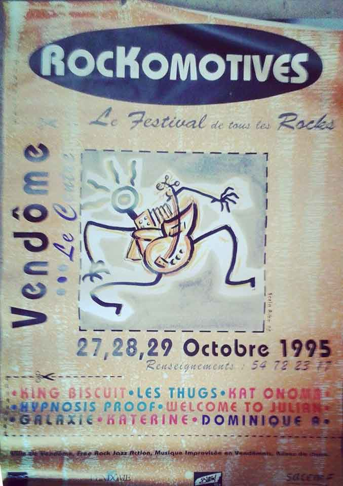 27 octobre 1995 Welcome To Julian, Les Thugs à Vendome