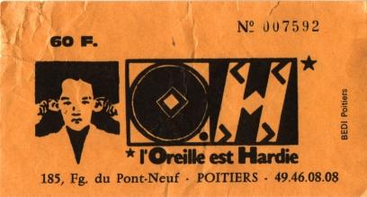 """27 mars 1996 TV Killers, Les Thugs à Poitiers """"Confort Moderne"""""""