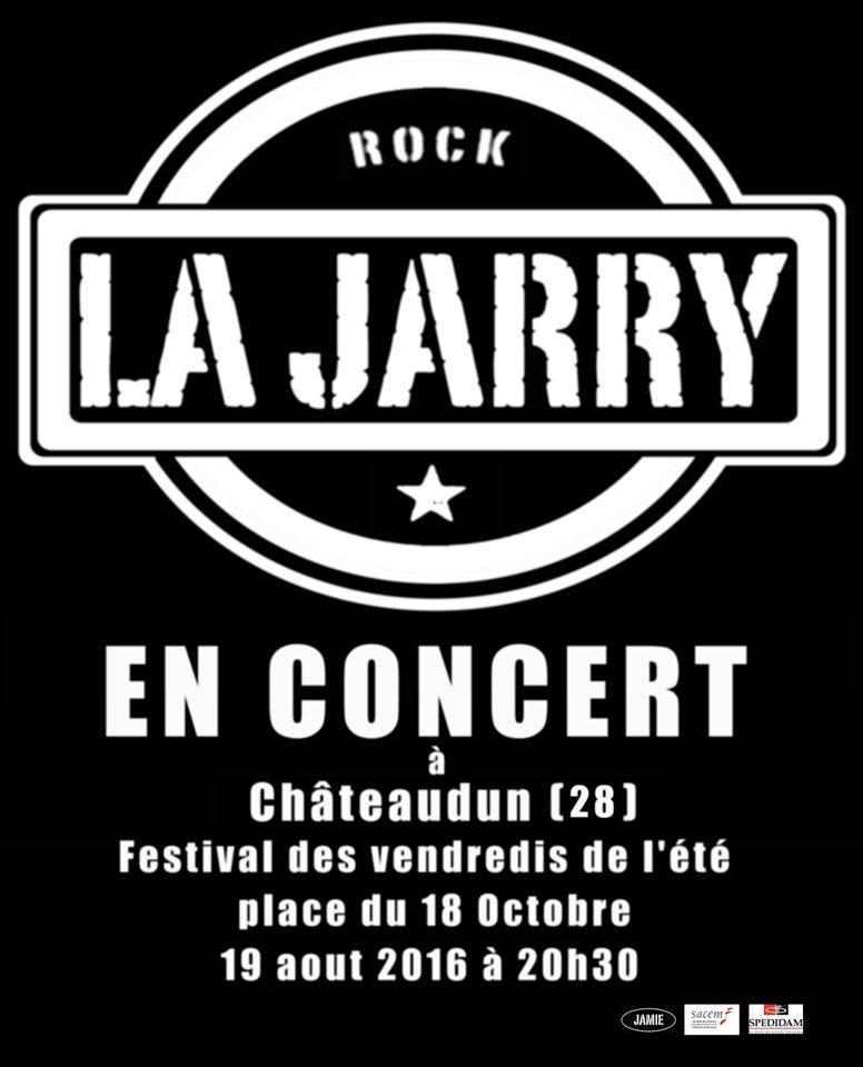 19 aout 2016 La Jarry à Chateaudun