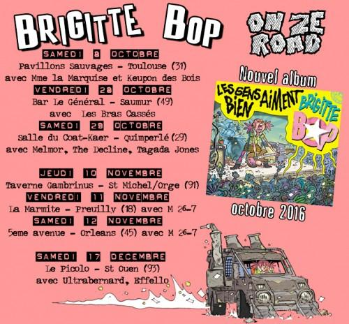 Octobre 2016 Brigitte Bop On the Road