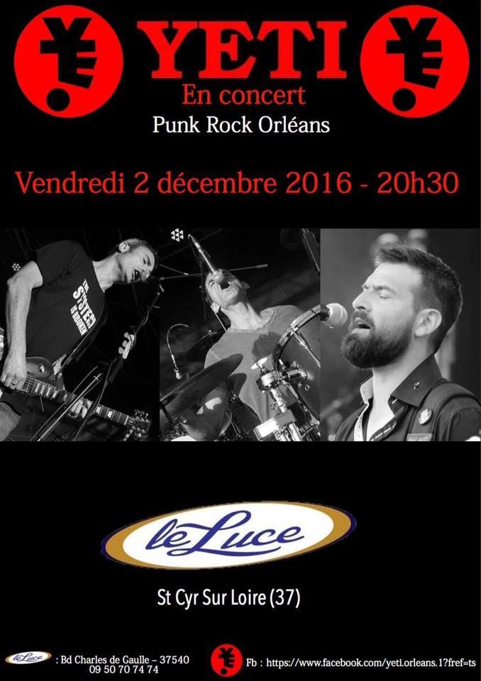 """2 decembre 2016 Yeti à Saint Cyr Sur Loire """"le Lucé"""""""