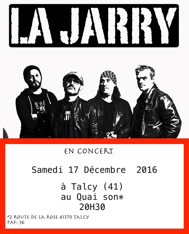 "17 decembre 2016 Breast Ripper, La Jarry à Talcy ""Quai'Son"""