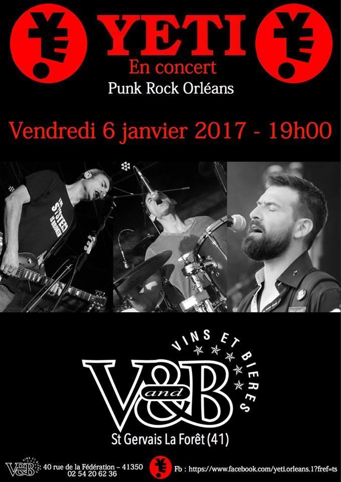 """6 janvier 2017 Yeti à Saint Gervais la Foret """"V&B"""""""