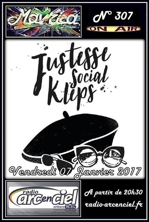 """6 janvier 2017 Justesse Social Kleps à Fleury Les Aubrais """"Mavrica"""""""