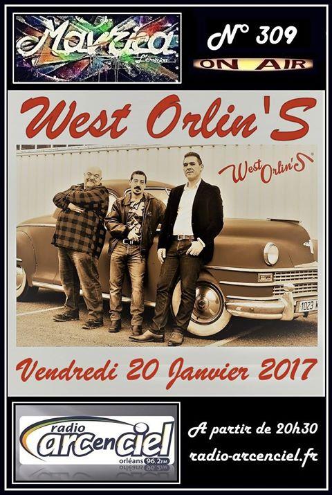 """20 janvier 2017 West Orlin's à Fleury les Aubrais """"Mavrica"""""""