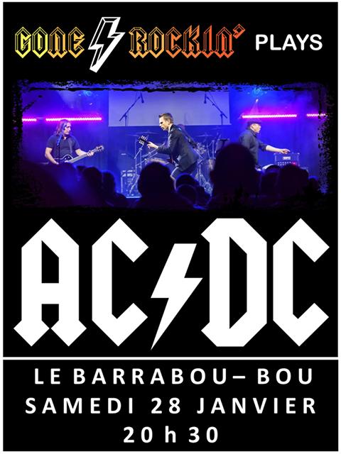 """28 janvier 2017 Gone Rockin à Bou """"Barabou"""""""