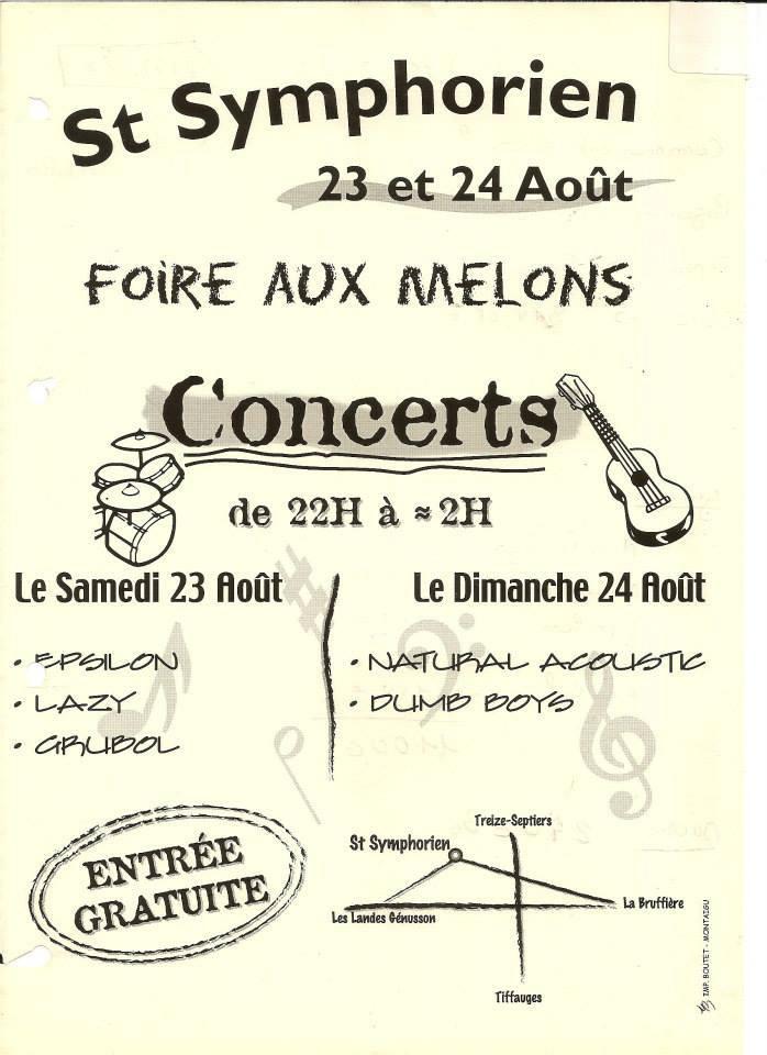 23 aout 2003 Epsylon, Lazy, Grubol à Saint Symphorien
