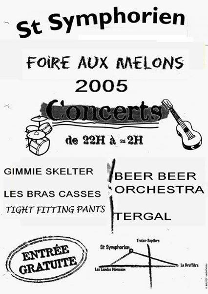 20 aout 2005 Gimmie sketler, Les bras cassés, Tight fitting pants à Saint Symphorien