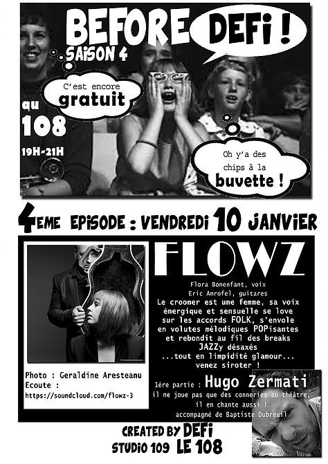 """10 janvier 2014 Hugo Zermati, Flowz à Orléans """"le 108"""""""