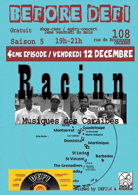 """12 decembre 2014 Racinn à Orléans """"le 108"""""""
