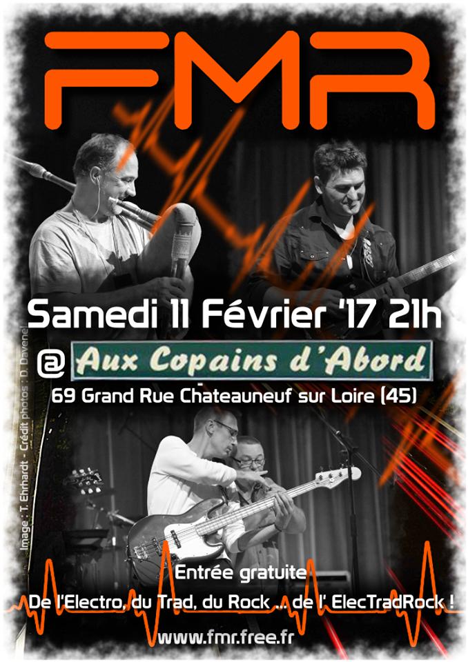 """11 fevrier 2017 FMR à Chateauneuf Sur Loire """"Aux Copains d'Abord"""""""
