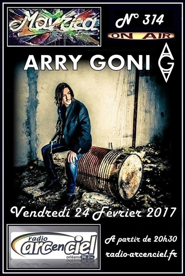 """24 février 2017 Arry Goni à Fleury les Aubrais """"Mavrica"""""""