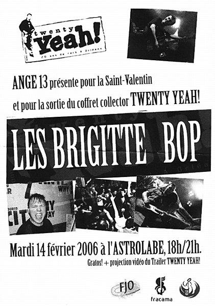 """14 fevrier 2006 Brigitte Bop à Orléans """"Astrolabe"""""""