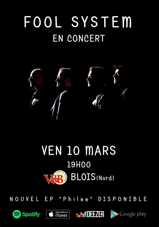 """10 mars 2017 Fool System à Blois """"V&B"""""""