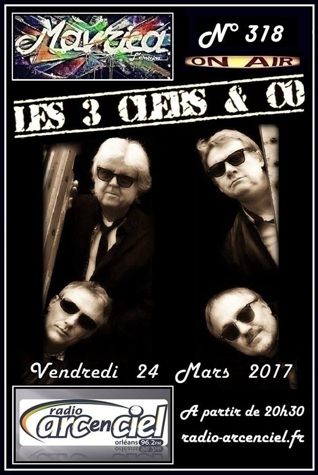 """24 mars 2017 Les 3 Clebs & Co à Fleury les Aubrais """"Mavrica"""""""