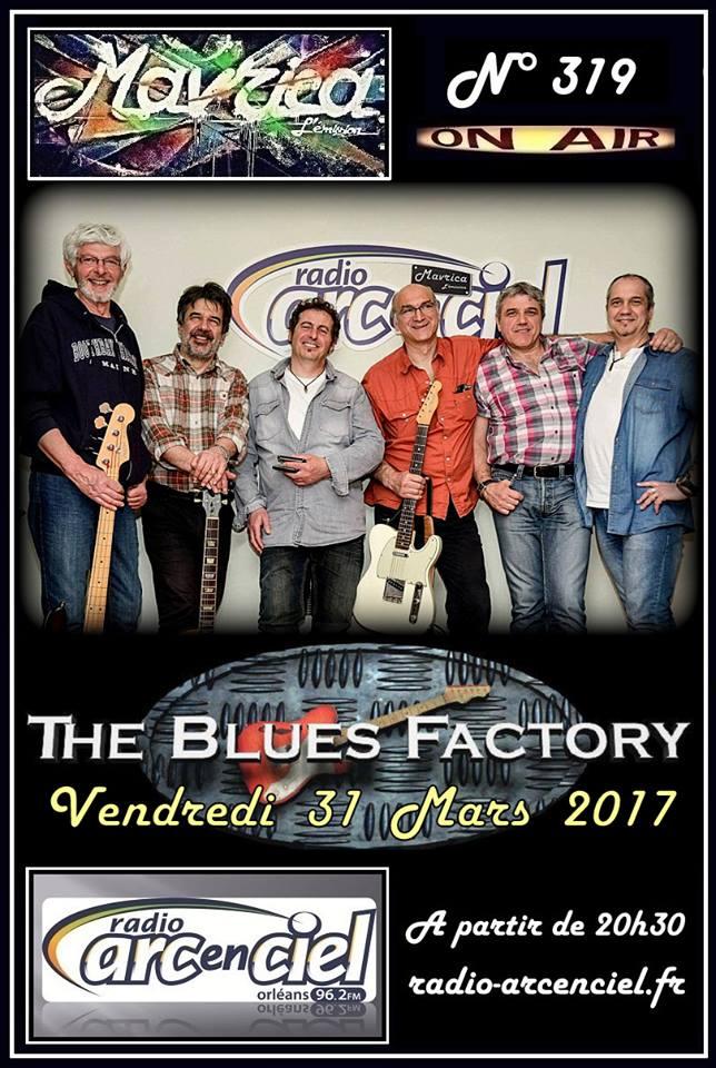 """31 mars 2017 Blues Factory à Fleury les Aubrais """"Mavrica"""""""