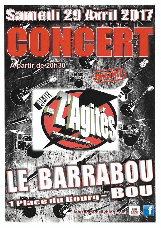 """29 avril 2017 Les Z'agités à Bou """"Barabou"""""""