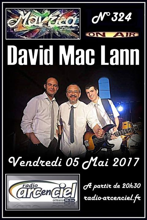 """5 mai 2017 David Mac Lann à Fleury les Aubrais """"Mavrica"""""""