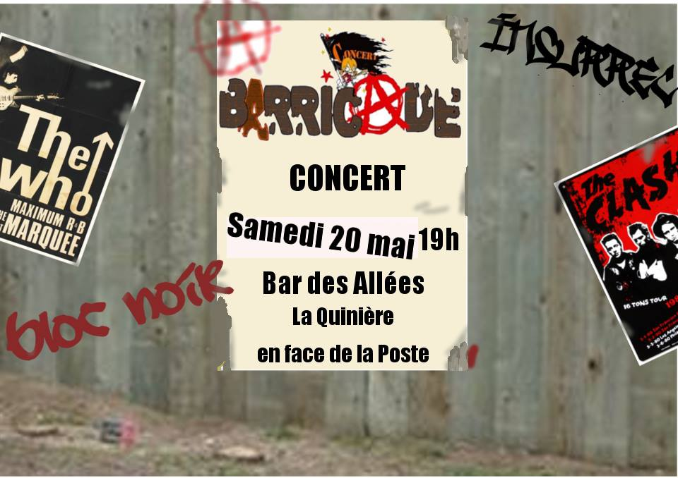 """20 mai 2017 Barricade à Blois """"Bar des Allées"""""""
