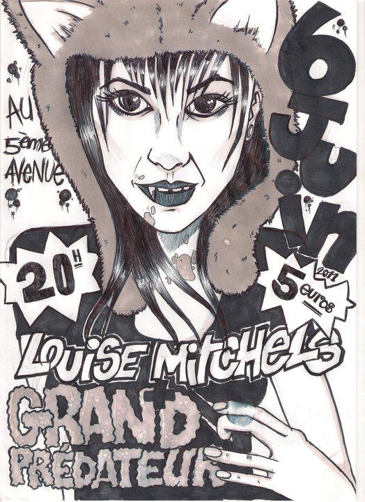 """6 juin 2011 Les Louise Mitchels, Unlogistic, Grand Predateur à Orléans """"5ème Avenue"""""""