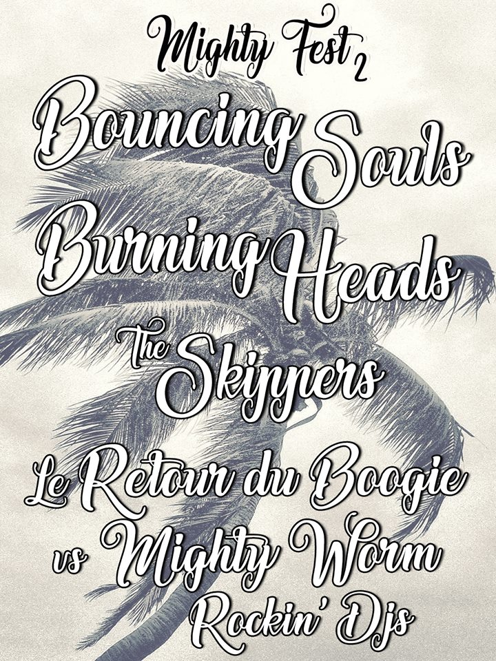 "15 juin 2017 Bouncing Souls, Burning Heads, the Skippers à Besançon ""la Rodia"""