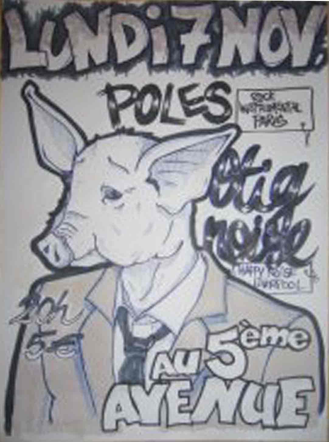 """7 novembre 2011 Stig Noise Sound System, Poles à Orléans """"5ème avenue"""""""