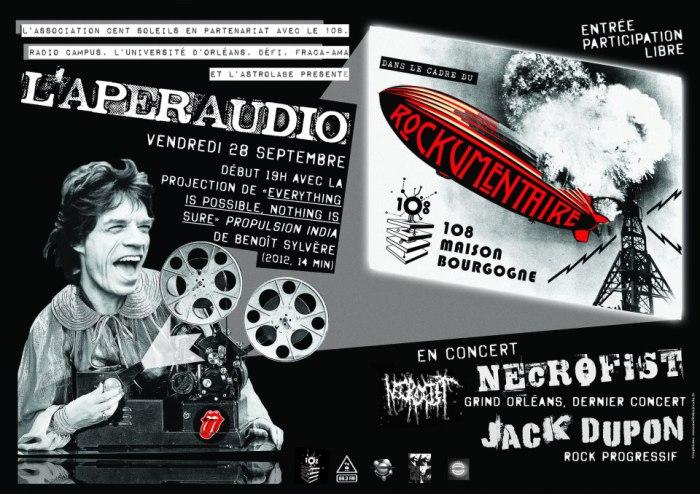 """28 septembre 2012 Necrofist, Jack Dupon à Orléans """"le 108"""""""