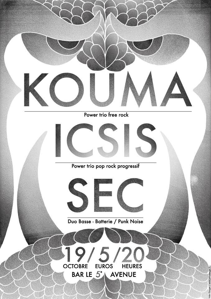 """19 octobre 2012 Kouma, Icsis, Sec à Orléans """"5ème Avenue"""""""