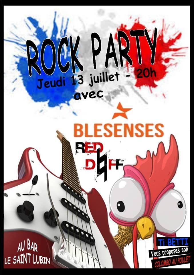 """13 juillet 2017 Red Daff, Blesenses à Blois """"Saint lubin"""""""