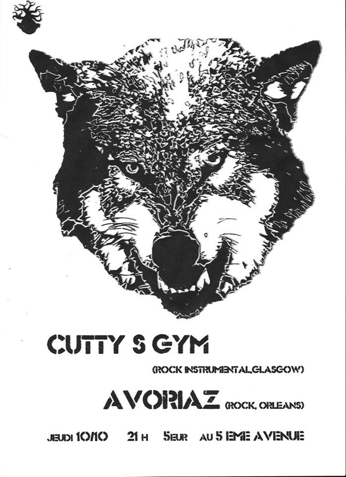 "10 Octobre 2013 Cutty's Gym, Avoriaz à Orléans ""5ème Avenue"""