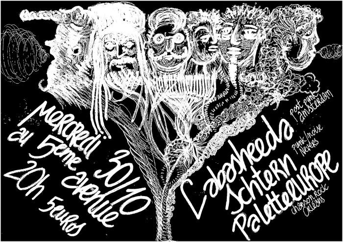 """30 octobre 2013, Labasheeda, Schtern, Palette Europe à Orléans """"5ème Avenue"""""""
