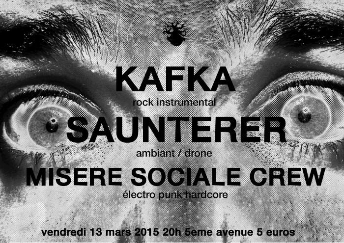 """13 mars 2015 Kafka, Saunterer à Orléans """"5ème Avenue"""""""