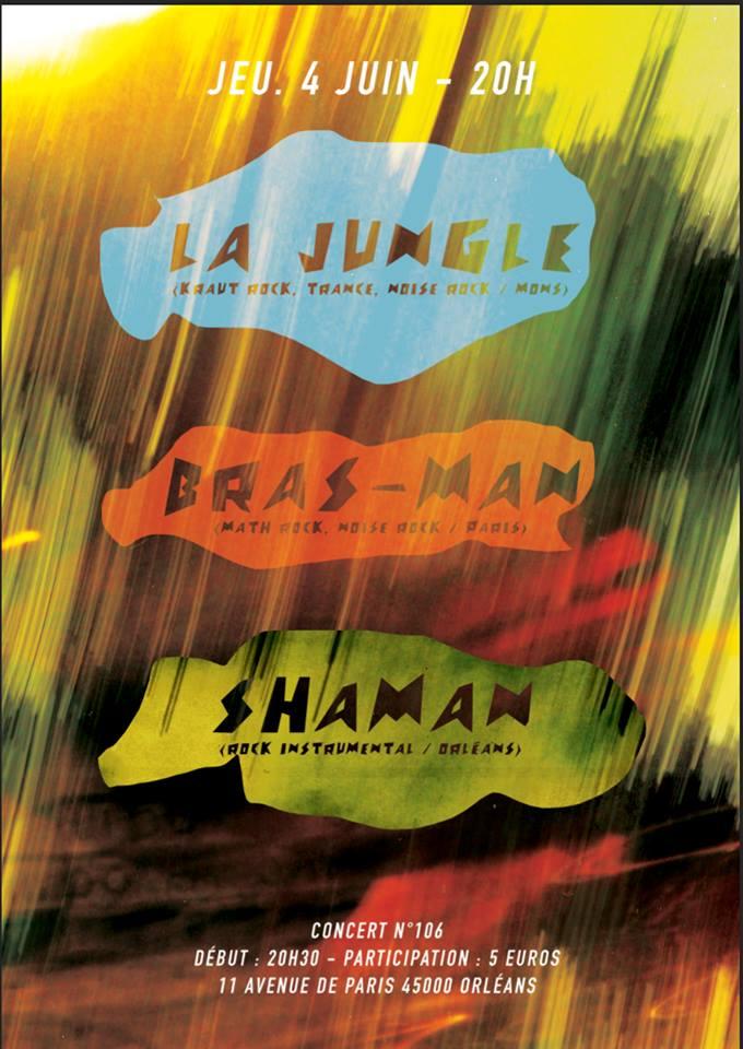 """4 juin 2015 La Jungle à Orléans """"5ème Avenue"""""""