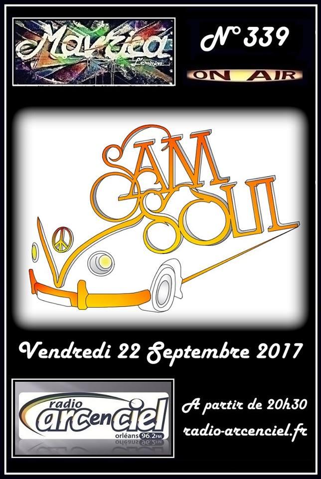 """22 septembre 2017 Samsoul à Fleury les Aubrais """"Mavrica"""""""