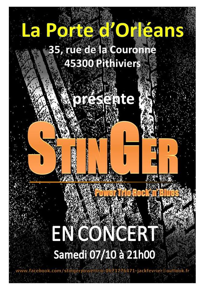 """7 octobre 2017 Stinger à Pithiviers """"La Porte d'Orléans"""""""