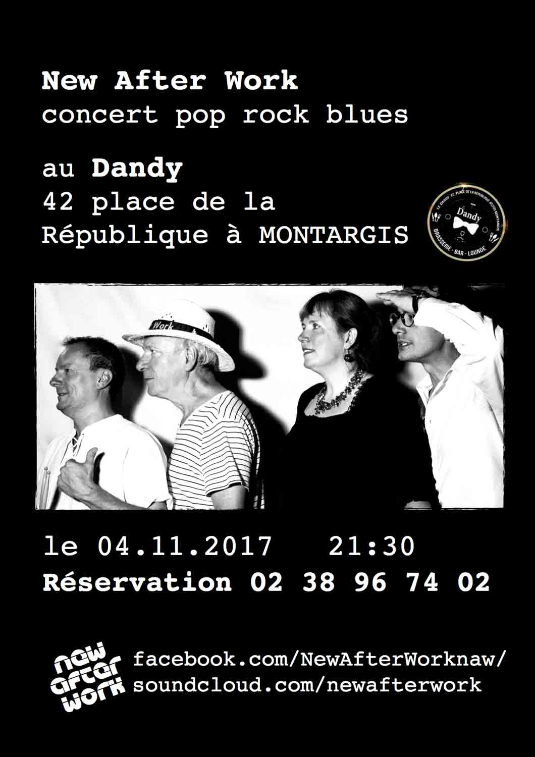 "4 novembre 2017 New After Work à Montargis ""le Dandy"""