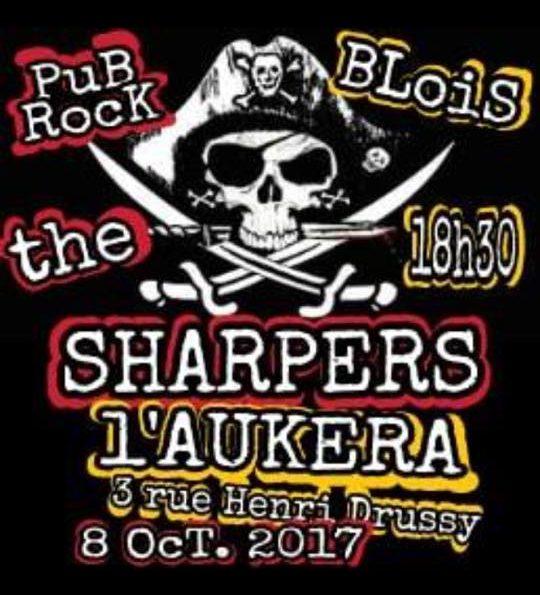 """8 octobre 2017 Sharpers à Blois """"l'Aukera"""""""
