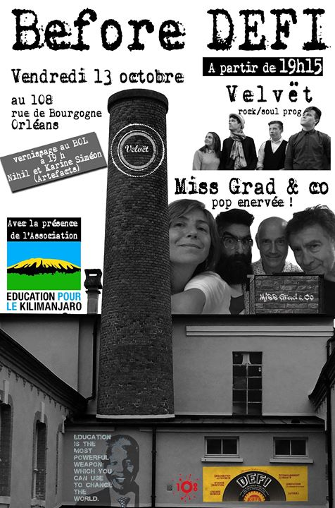 """13 octobre 2017 Velvet, Miss Grad & Co à Orléans """"le 108"""""""