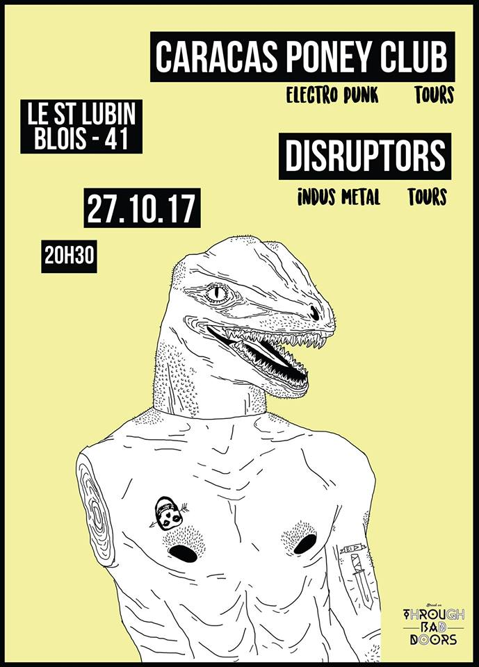 "27 octobre 2017 Caracas Poney Club, Disruptors à Blois ""Saint Lubin"""