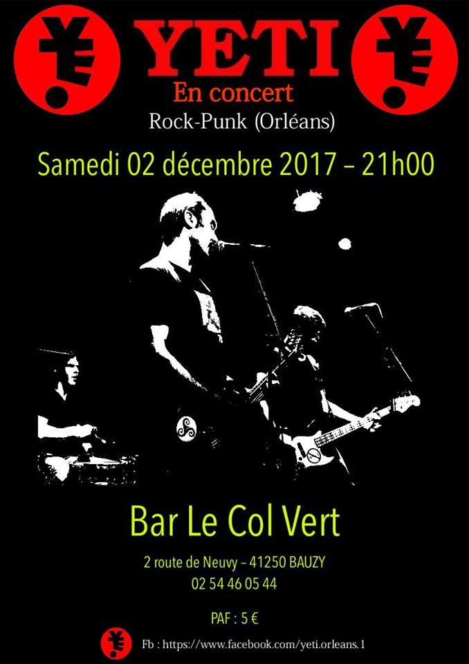 """2 decembre 2017 Yeti à Bauzy """"le Col Vert"""""""
