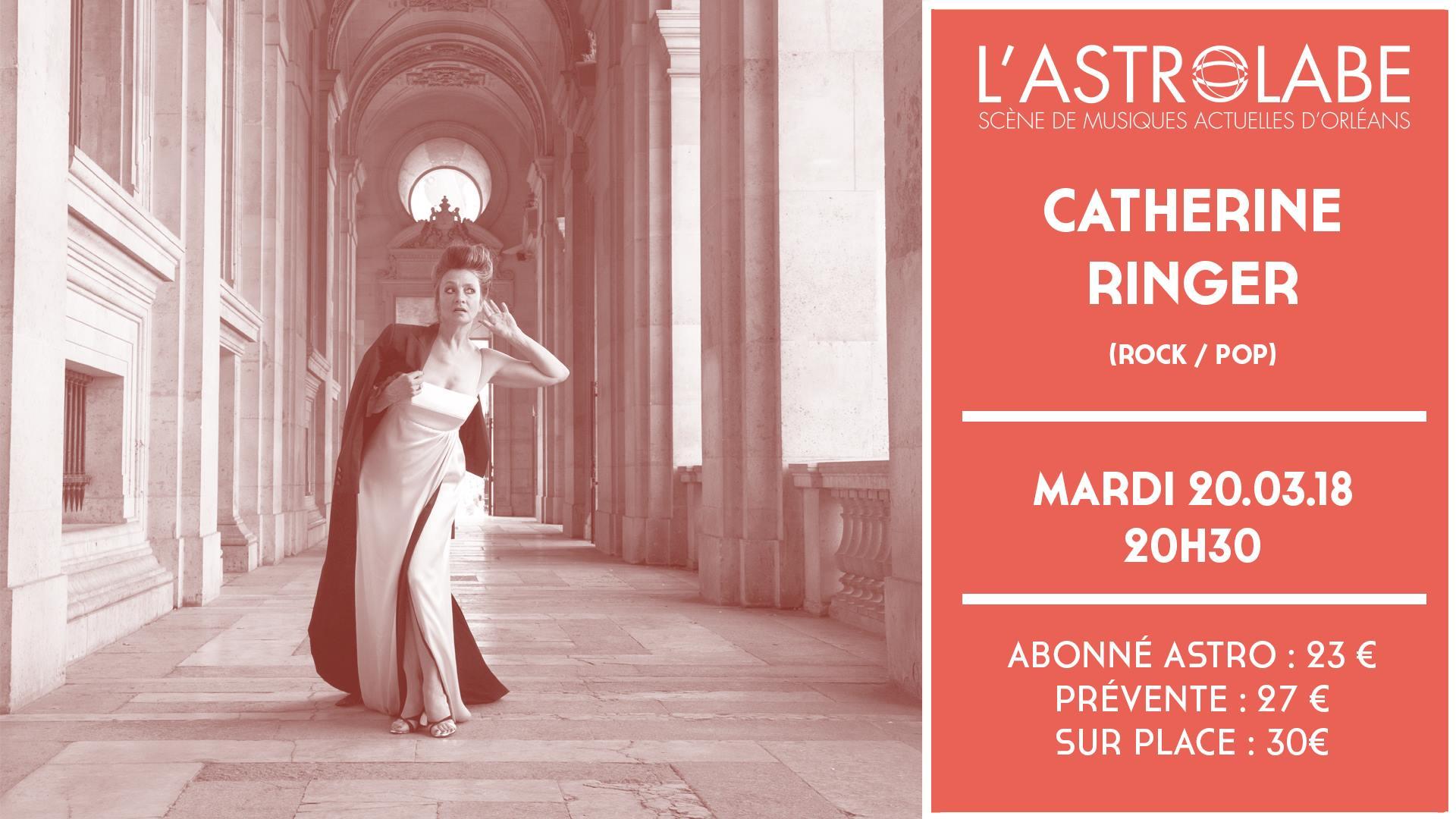 "20 mars 2018 Catherine Ringer à Orléans ""L'Astrolabe"""