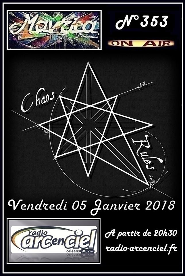 """5 janvier 2018 Chaos Rules à Fleury Les Aubrais """"Mavrica"""""""