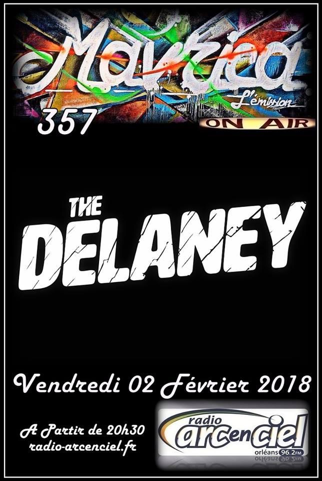 """2 février 2018 The Delaney à Fleury les Aubrais """"Mavrica"""""""