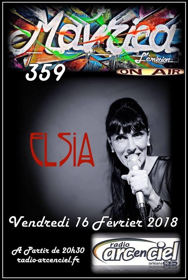 """16 février 2018 Elsia à Fleury les Aubrais """"Mavrica"""""""