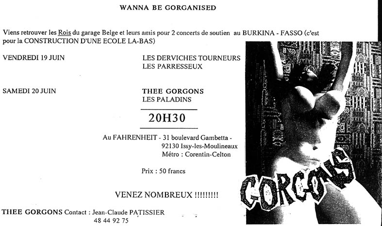 Concert pour La Construction d'une Ecole au Burkina Fasso