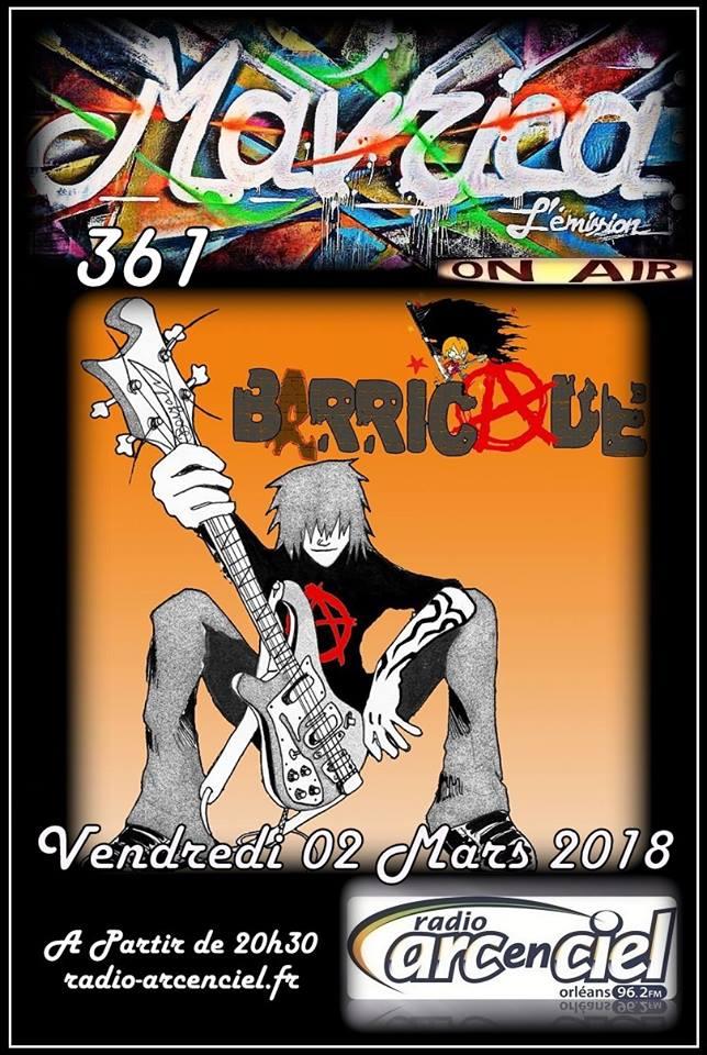 "2 mars 2018 Barricade à Fleury les Aubrais ""Mavrica"""