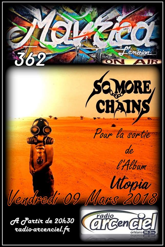 "9 mars 2018 So More Chains à Fleury les Aubrais ""Mavrica"""